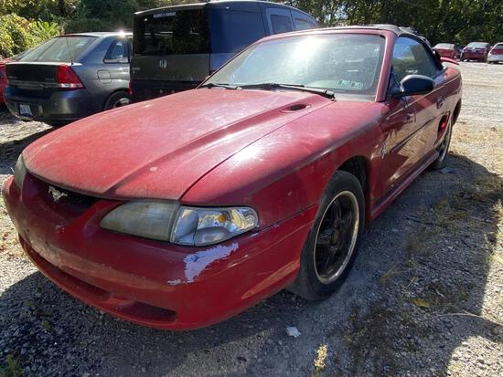 1996  FORD  MUSTANG   Tow# 102508