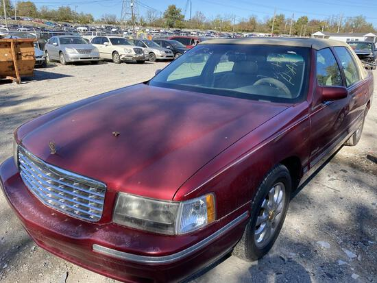 1999  CADILLAC  DEVILLE   Tow# 102842