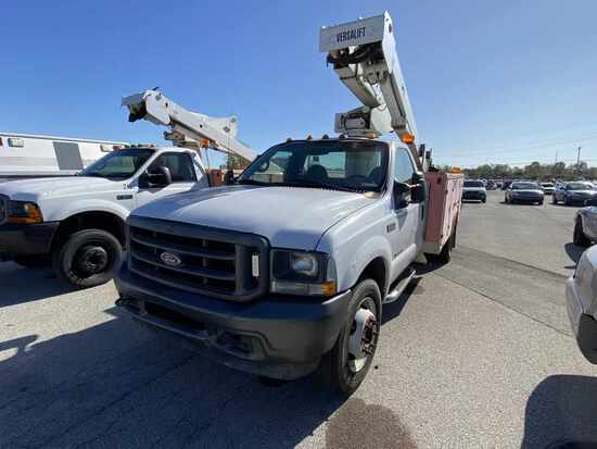 2002 Ford Aerial Lift Bucket Truck Unit# 219