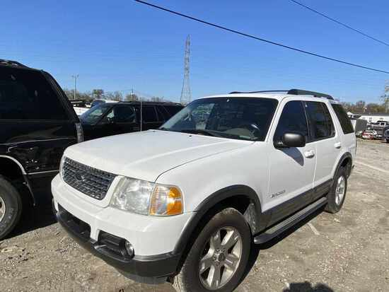 2005  FORD  EXPLORER   Tow# 102552