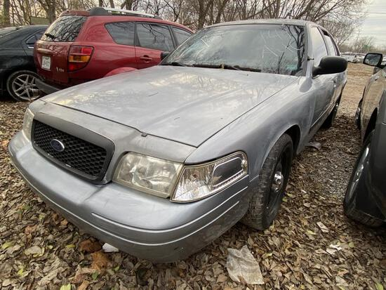 2008 Ford Crown Vic Police Tow# 104782