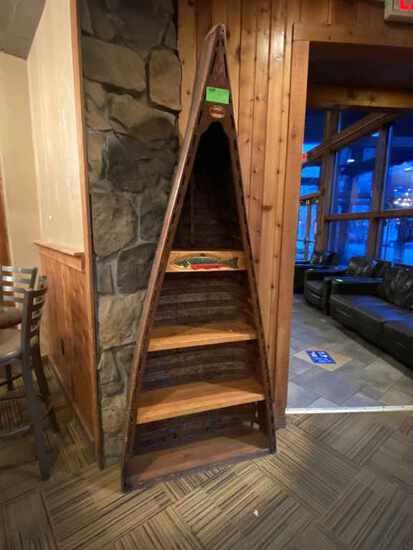 Canoe Decorative Shelf.  Lodge themed item, Neat