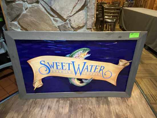 Sweet Water Brewing Company Sign