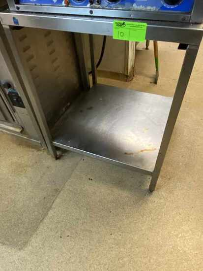 Stainless Steel Work Table, Right Size for Oven