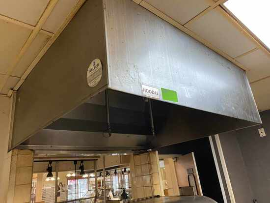 Commercial Stainless Steel Exhaust Hood