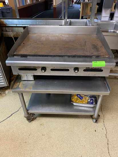 Commerical Restaurant Griddle by Imperial W/base