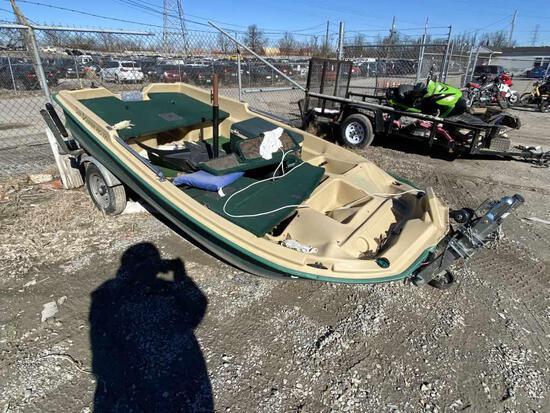 2008 SUNDOLPHINE BOAT Tow# 103670