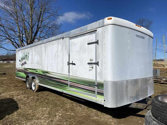 Trakker 8.5' x 20ft  Enclosed Trailer W/Ramp Door