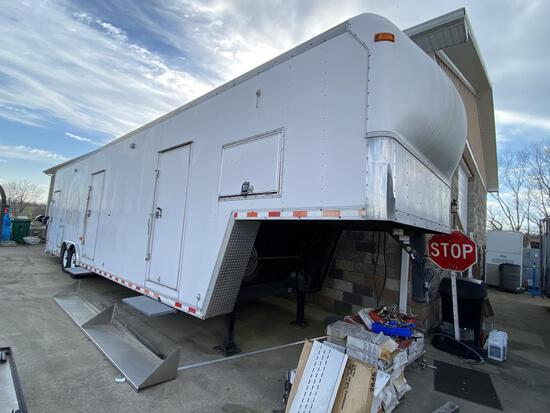 Pace American 34' Enclosed Communications Trailer