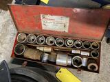 Tool Box Full of 3/4 Drive Sockets