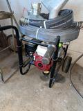 Honda Trash Pump w/Hoses Used One Time
