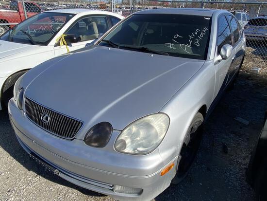 1999  LEXUS  GS 300   Tow# 100906