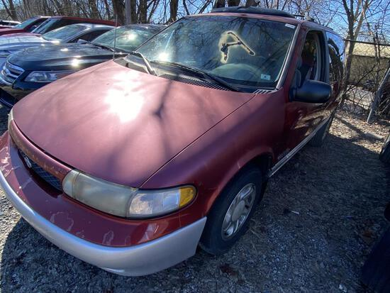 1997  NISSAN  QUEST   Tow# 105246