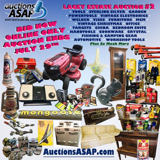 Estate Auction 2 - CONTINUED