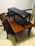 Dinning Table w/ 4 Chairs & Long Bench