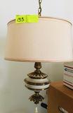 Hanging Lamp w/Shade 2 bulbs
