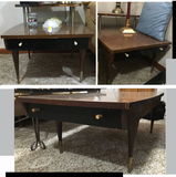 Coffee Table with Drawers and   2 End Tables