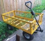 Heavy Duty Garden and Yard Cart