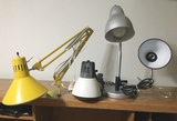 4 Small Desk Lights