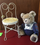 Collectable Bear w/ Chair