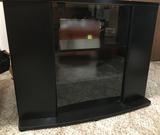 Black TV Console Stand