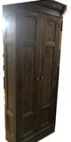 Antique Oak Wardrobe Cabinet.