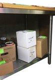 6 ft. Stainless Steel Table w/Lower Shelf & Drawer Slides