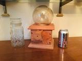 Planters Peanuts glass canister, bubblegum dispenser, Diet Bubba Can