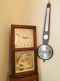 Clock and  weather indicator