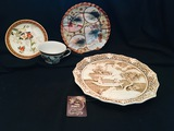 Decorative Plates and Tea Cup