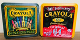 Collectable Tins (unopened) Crayola 40 & 90th Anniversary Limited Edition