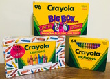 3 Collectable (unopened) Crayola Limited Edition
