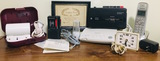 Recorders, Clock, Travel Dryer, Phone, Answering Machine