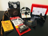 Vintage Camera Equipment, Pierre Cardin Handkerchiefs, Key Holder, Ignition Guard