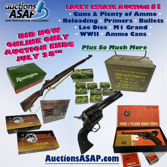 Lacey #1 Firearms Ammo Reloading Supplies Military