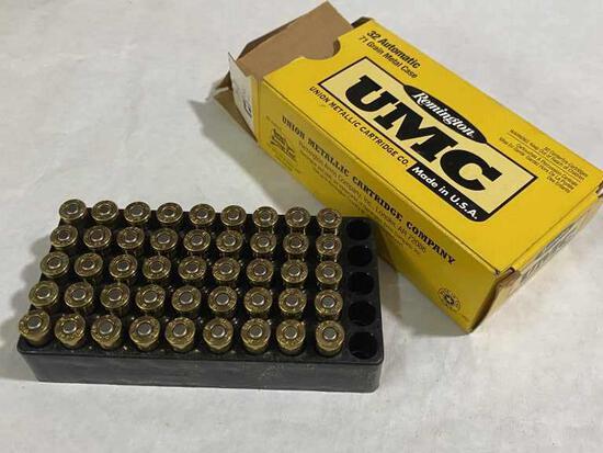 45rds Remington UMC 32 Automatic Pistol Ammo