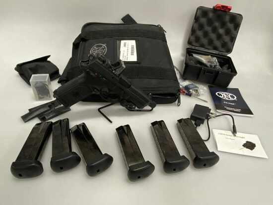 FN FNX-45T 45 Pistol w/Trijicon 700032 Sight