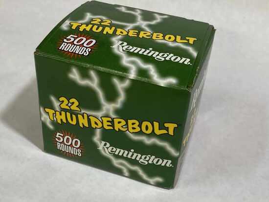 500rds 22LR Remington Thunderbolt Ammo