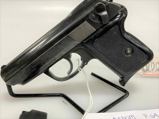 Radom P-64 9x18 Makarov Semi-Auto Pistol &
