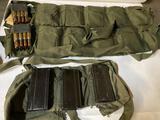 2 Bandoleers M1 30 Carbine & Garand AP Ammo