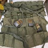 7 Bandoleers M2 Ammo w/Clips Garand