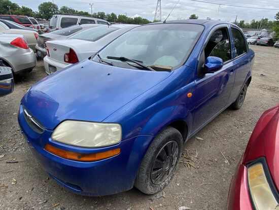 2004  Chevrolet  AVEO   Tow# 108214