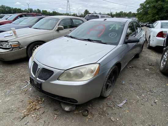 2008  Pontiac  G6   Tow# 107828