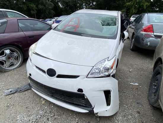 2012  Toyota  Prius   Tow# 107786