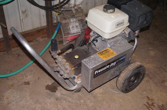 Pressure Pro Pressure Washer with Honda Motor