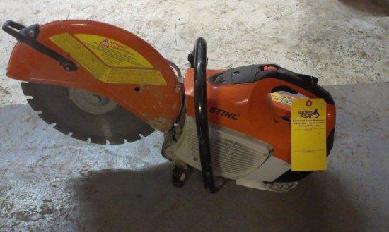 Stihl TS 420 Concrete Cut Off Chop Saw
