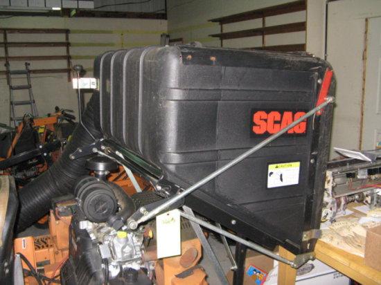 Scag Leaf Catcher Box Vacuum Attachment