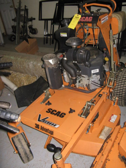 Scag Svr36a V-ride Mower