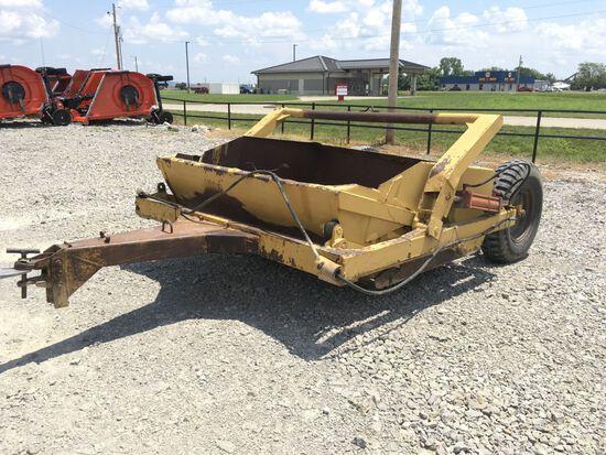 Midland Dirt Pan 4yard Drawbar type