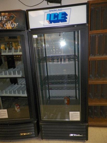 True, Sibgle Door Beverage Cooler. Model GDIM-26. Twenty Six Cubic Feet.